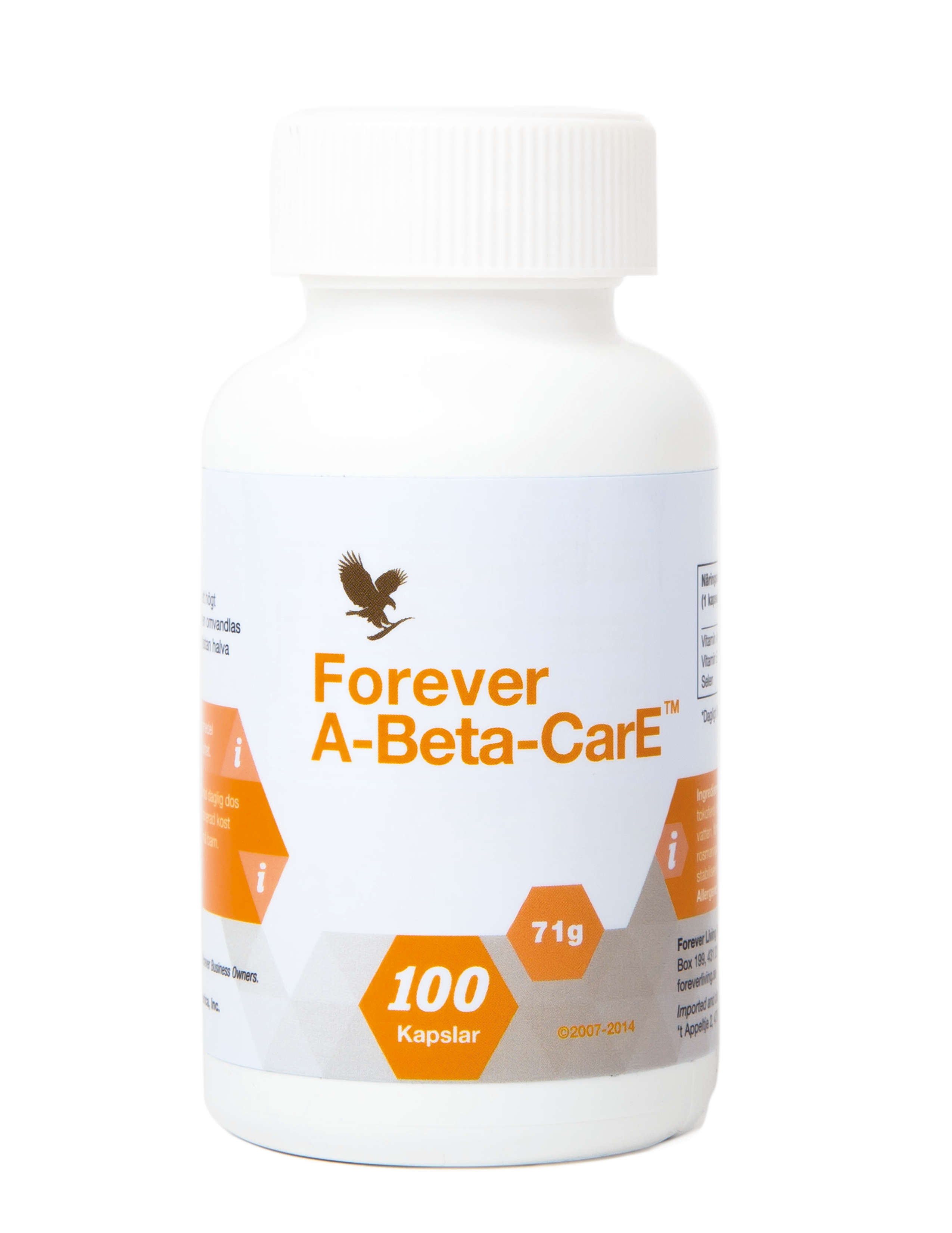 Forever A-Beta-CarE is a supplement specially for those focused on eyesight and the immune system.