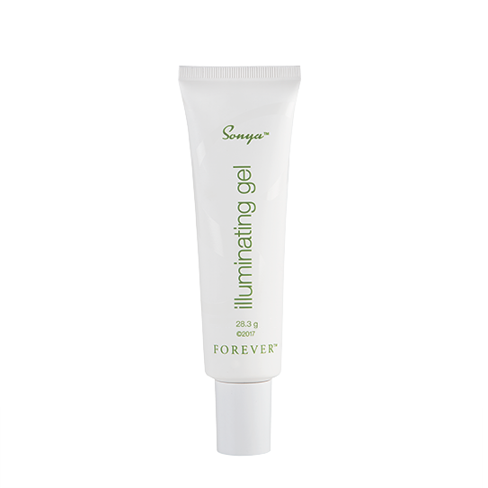 Sonya illuminating gel is a fast-absorbing gel that makes your skin appear youthfully fresh, with a radiant glow.